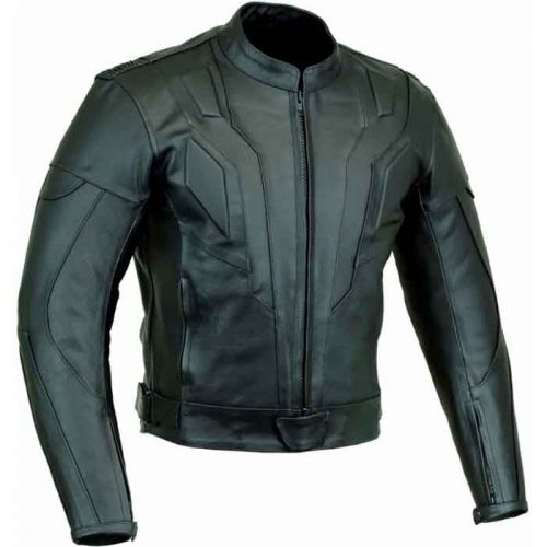 KNIGHT RIDER MOTORBIKE LEATHER JACKET Motorbike Collection Free Shipping