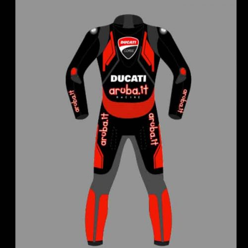 Ducati Corse Motorbike Leather Racing Motorcycle Suit 2021 Motorbike Collection Free Shipping