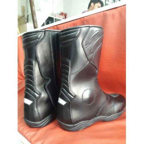 Waterproof MWaterproof Motorcycle Motorbike Leather Boots MotoGp Boots Free Shipping