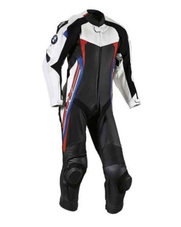 Bmw motorrad 1PC MOTORBIKE 100% COWHIDE LEATHER SUIT Motorbike Suits Free Shipping