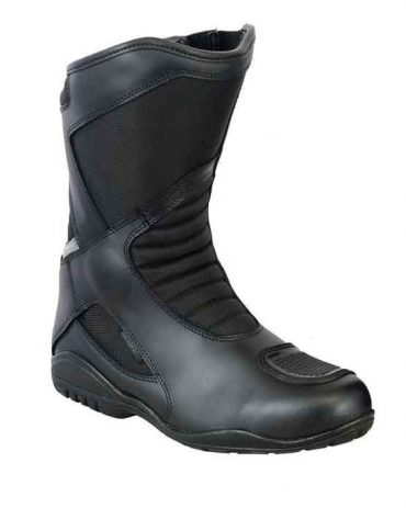 Unisex Breathable Sports Style Leather Motorcycle Boots Racing Shoes Motorbike Boots Free Shipping