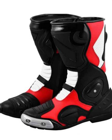 Motofox Biker Leather Boots MotoGp Boots Free Shipping