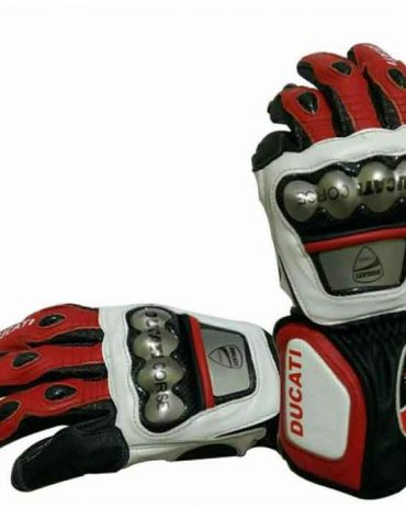 Brand New Motorcycle Cowhide Leather Glove Gloves Free Shipping