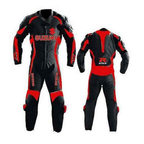 Suzuki Motogp Racing Biker Leather Suit MotoGp Collection Free Shipping