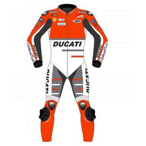 2021 ANDREA DOVIZIOSO MOTOGP DUCATI RACING LEATHER Motorbike Collection Free Shipping
