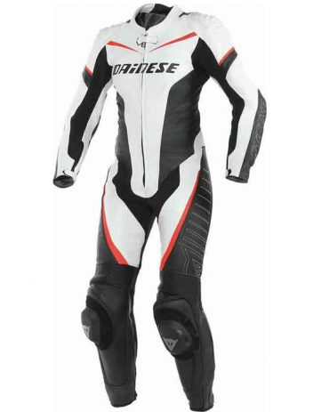 WOMEN'S MOTORBIKE COWHIDE LEATHER ARMOURED SUIT MotoGp Collection Free Shipping