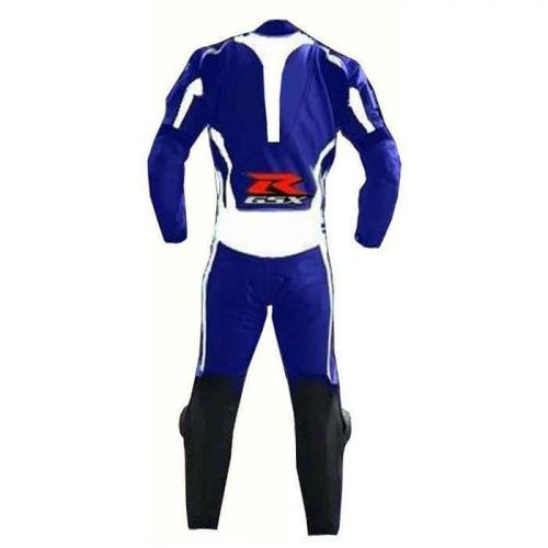 Suzuki Racing Motorcycle Leather Suit MotoGp Collection Free Shipping