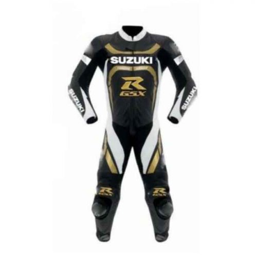 Suzuki Motorcycle Racing Leather Suit MotoGp Collection Free Shipping