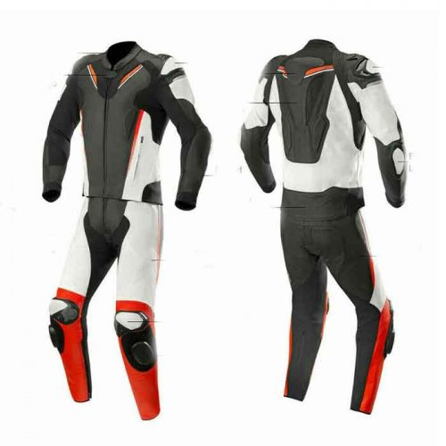 STREET RACING MOTORBIKE LEATHER SUIT CUSTOM MADE MotoGp Collection Free Shipping