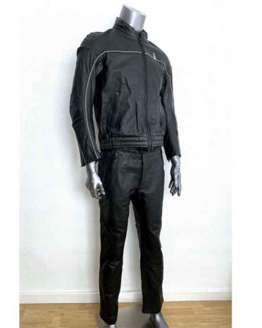 BMW Motorcycle Black Leather Suit MotoGp Collection Free Shipping