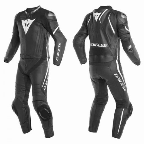 NEW MEN'S MOTORBIKE LEATHER SUIT MotoGp Collection Free Shipping