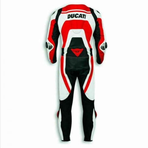 DUCATI CORSE MOTORCYCLE LEATHER RACING BIKERS SUIT MotoGp Collection Free Shipping