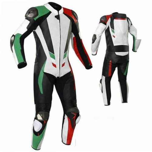Brand New MotoGp 1 Piece Motorbike Racing Leather Suit MotoGp Collection Free Shipping