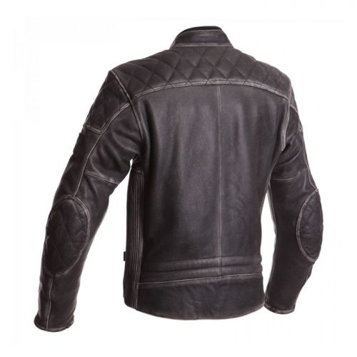 New Arrival Classic Motorcycle Biker Jacket  Vintage real Leather Jacket Motorbike Boots Free Shipping