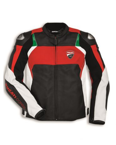 Ducati Dainese Corse C3 motorcycle leather jacket for men Motorbike Jackets Free Shipping