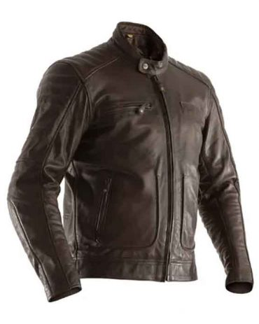 RST AXIS CE MENS LEATHER JACKET Motorcycle Collection Free Shipping