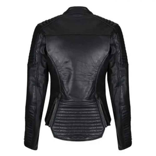 MOTO LADIES VALERIE LEATHER  JACKET Motorcycle Collection Free Shipping