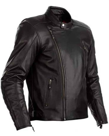 MOTORCYCLE MATLOCK CE MENS LEATHER JACKET Motorcycle Collection Free Shipping