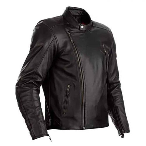 MOTORCYCLE MATLOCK CE MENS LEATHER JACKET Motorcycle Leather jackets Free Shipping