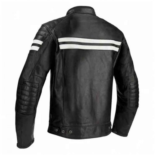 Men's Motorcycle Leather Jacket Motorcycle Collection Free Shipping