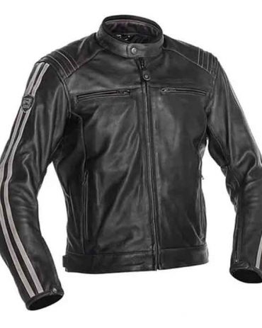 Men's Richa Retro Motorcycle Leather jacket Motorcycle Collection Free Shipping