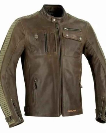 Latest Motorcycle Men's Leather Jacket Motorcycle Collection Free Shipping