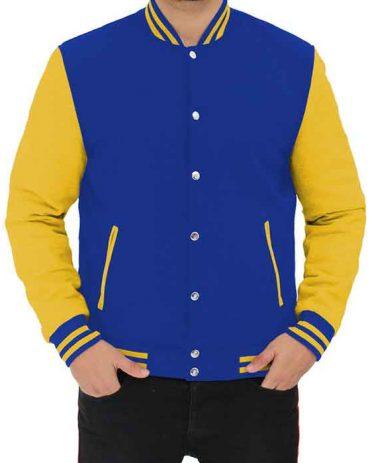 Mens Baseball Black and Grey versity leather Jacket Varsity Jackets Free Shipping