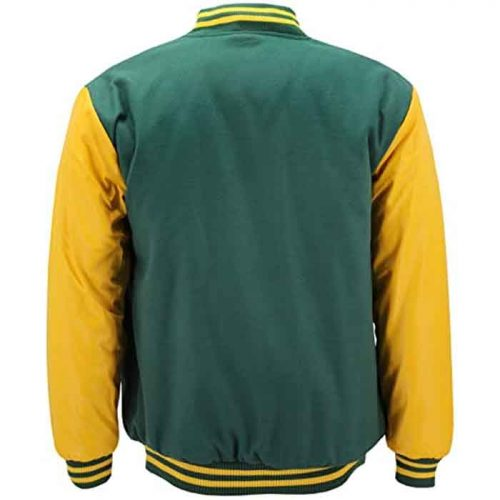 New Men's Premium Classic Snap Button Vintage Baseball Varsity Jacket Fashion Collection Free Shipping