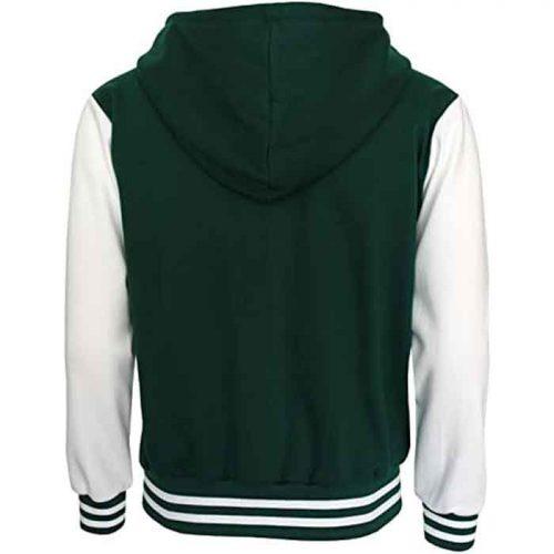 BCPOLO Hoodie Baseball Varsity Baseball Jacket Cotton Letterman Jacket Fashion Collection Free Shipping