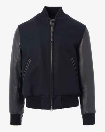 Zip Up Varsity Jacket by Mr-Styles Fashion Collection Free Shipping