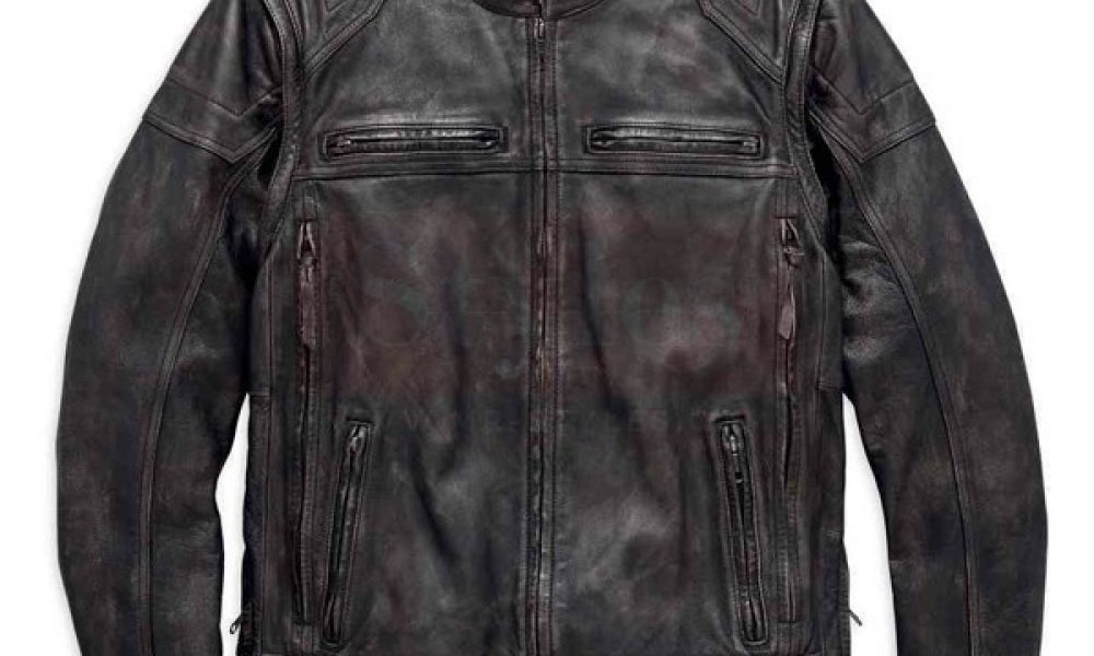 Men's Dauntless Convertible Motorcycle Leather Jacket - Harley Davidson