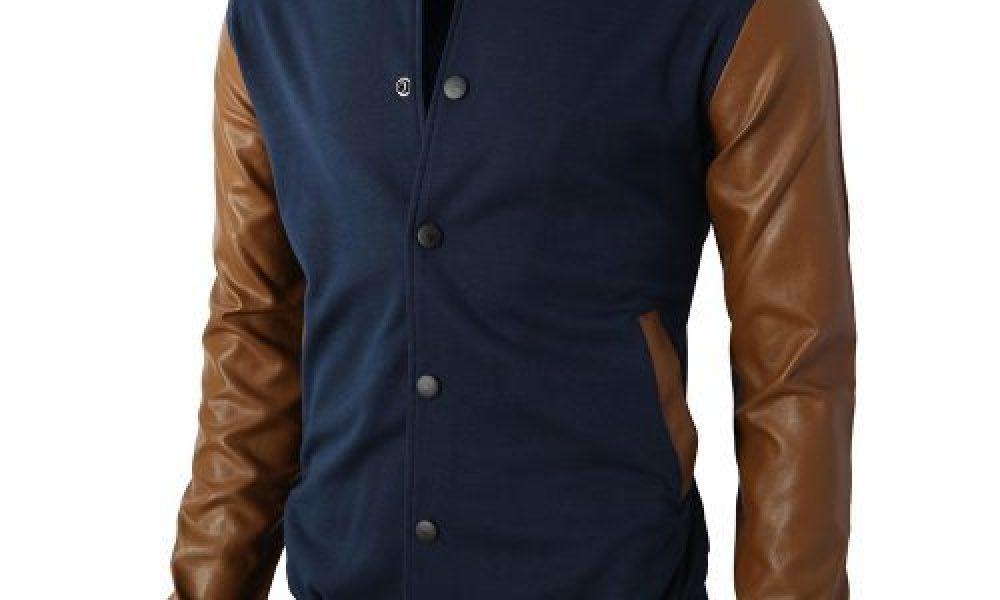 New Arrival Fashion Varsity Leather Jackets